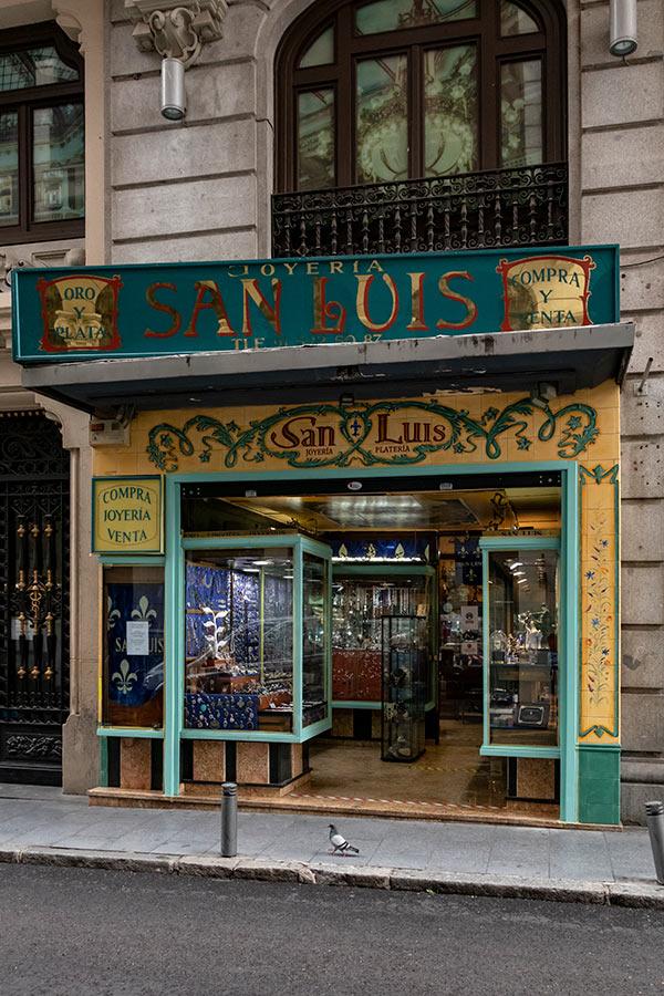 Comercios Históricos de Madrid | Gran Vía