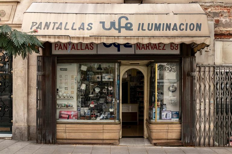 Comercios Históricos de Madrid | Narváez - Lista
