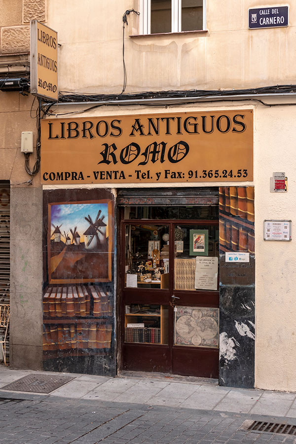Comercios Históricos de Madrid | El Rastro - Lavapiés