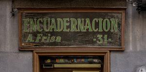 Comercios Históricos de Madrid | Chueca - Malasaña | Encuadernación Frisa