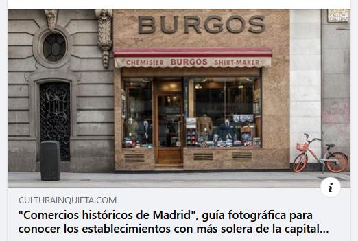 Comercios Historicos en Cultura Inquieta